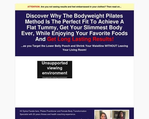 Bodyweight Pilates - New Offer Crushing It!