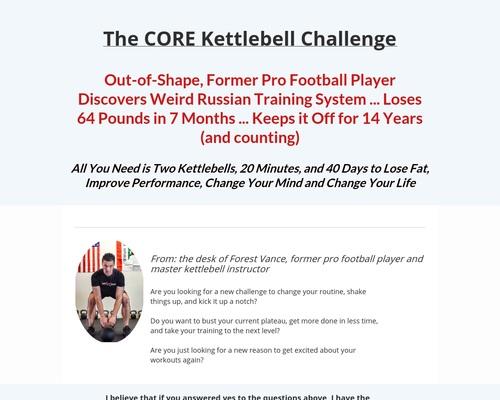 CORE Kettlebell System (social)