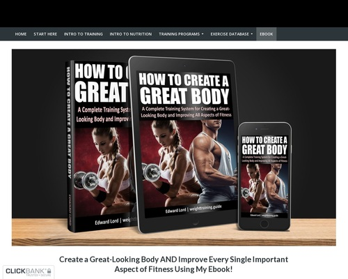 """Download """"How to Create a Great Body"""", the ebook by Edward Lord!"""