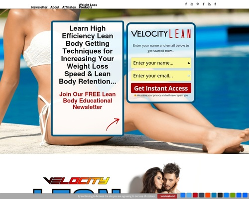 Velocity LEAN Velocity LEAN Diet - Diet for Losing Weight Fast - Velocity LEAN