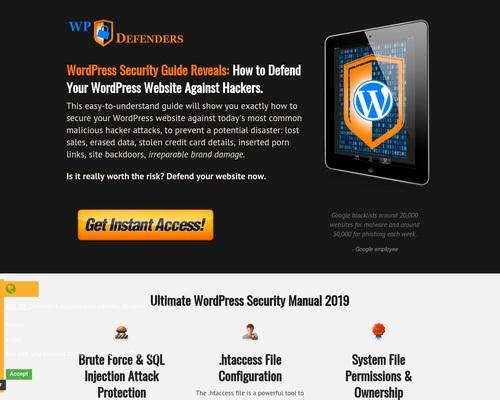Ultimate WordPress Security Manual 2019   WP Security Guide   CB   WP DEFENDERS