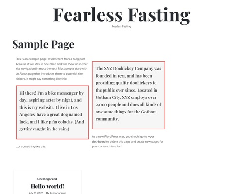 Fearless Fasting – Fearless Fasting