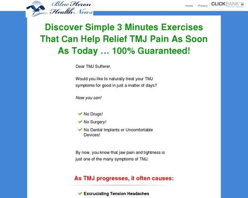 The TMJ Solution vsl cb | Blue Heron Health News