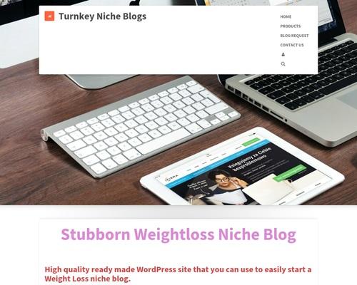 Weight Loss Niche Blog | Turnkey Niche Blogs